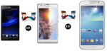 High End Brand Fight : Sony Xperia C vs Sony Xperia SP vs Samsung Galaxy Mega 5.8 Duos I9152