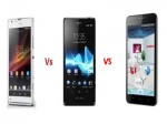 Quick Comparison: Sony Xperia T vs Sony Xperia SP vs Intex Aqua i7, Which One To Choose?