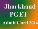 Jharkhand PGET 2014 Admit Cards Released: Download at www.nbe.gov.in/jhpg/