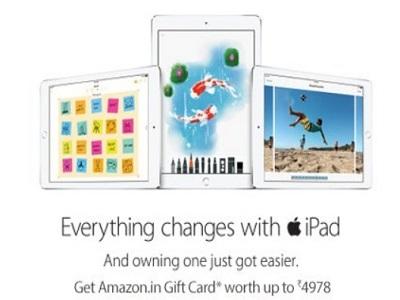 Apple IPads @Amazon.in