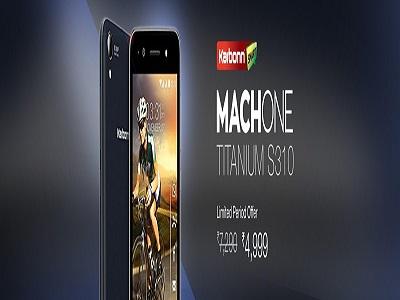 Karbonn Mach ONE Titanium S310