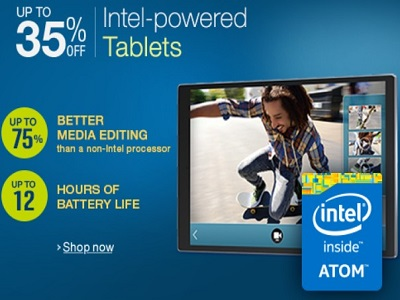 intel powered tablets @amazon.in